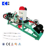 Negative Hot Salt PVC Coated Positive and Twist Barbed Wire Machine