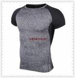 Sports manches courtes Tee-shirts de compression