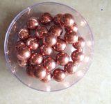 Lo zinco di rame dello stagno dell'oro ha ricoperto le sfere d'acciaio placcate della sfera d'acciaio del cuscinetto