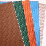 Cor de venda quente revestidos da bobina de alumínio em relevo de estuque para coberturas