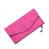 Borsa di cuoio della signora Zipper Women Wallet Magnetic dell'unità di elaborazione di nuovo stile