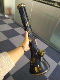 """19 da """" tubulação de água de vidro da cor de cobre da espessura da tubulação 9mm taça"""