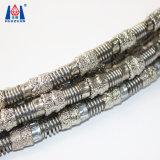 Профессиональных производителей вакуумных спаяны Diamond провод пилы для деталей из камня