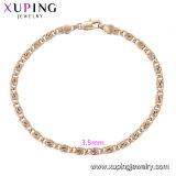 75437 joyería de lujo de última moda mujer Ojo grande rasgar el zircón Pulsera