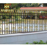 Simple Style White Color Modern Aluminum Garden Security Fence
