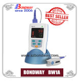 LED表示、電池式の、視覚および可聴周波アラームが付いている医学の指先のパルスの酸化濃度計(BW1A)を買いなさい