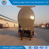 Cisterna de aço carbono semi reboque para transporte de Naoh/hidróxido de sódio