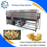 Machine d'écaillement de lavage de gingembre à tambour de grande capacité