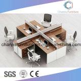 Stazione di lavoro di legno CAS-W1808 dell'ufficio classico faccia a faccia