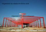 Edificio de la estructura de acero para las plantas industriales pesadas