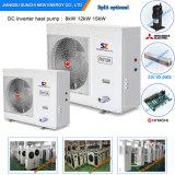 Pompe à chaleur Automatique-Deforst d'élément de compresseur de technologie de salle 12kw/19kw/35kw/70kw Evi de mètre de la chaleur 100~300sq de radiateur de l'hiver de la Russie -25c