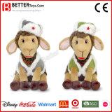 선물 새로운 디자인 박제 동물 어린 양 견면 벨벳 연약한 장난감