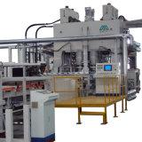 Pressione a quente Veneering rápido vertical linha de máquinas com rack de Refrigeração
