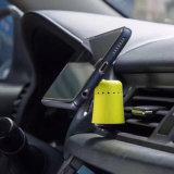 Stand de support de support d'évent de véhicule d'Adjuatable avec le parfum automatique