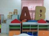 Het multifunctionele Kabinet van het Boekenrek van Kinderen Houten voor Kleuterschool (sf-120C)