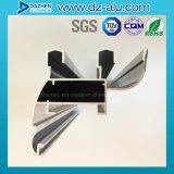 Profil en aluminium mieux vendu du Libéria pour la couleur personnalisée par porte de guichet