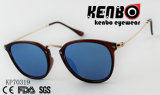 Солнечные очки с рамкой глаза кота и тонким виском Kp70319