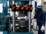 機械を作る半自動LPGシリンダー穴Punching&Logo