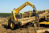 Abrazadera de registro Registro de la pala de ruedas cargadora de troncos de tenazas