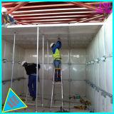 SMC transversal de los paneles de fibra de vidrio del depósito de agua del depósito de agua contra incendios GRP