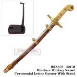 Decorazione medioevale 30cm HK8399 della Tabella delle spade delle spade del cavaliere apri di lettera