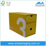 Логос напечатанный таможней 2 слоя коробки подарка ящика упаковывая бумажной