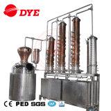 Equipo casero micro de la destilería del equipo de la destilación de vino de la ginebra del alcohol ilegal del ron del whisky de la vodka para la venta