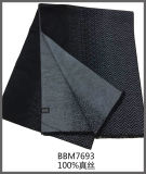 L'Italie a balayé l'écharpe en soie pour les hommes