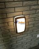Iluminação ao ar livre da parede do diodo emissor de luz da luz 9W da chegada nova em IP65