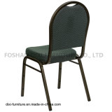 Présidence de empilement arrière de banquet de dôme de meubles d'hôtel avec de la mousse modelée verte de tissu et de moulage