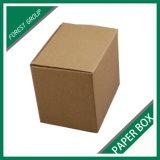 Коробка картонной коробки Kraft упаковывая оптом