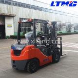 China mini Forklift Diesel de 2.5 toneladas com o Forklift 2-Stage do mastro