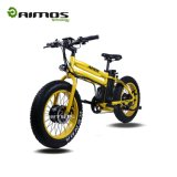 """فريدة تصميم 20 """" إطار سمين درّاجة كهربائيّة مع [48ف] [750و] محرّك"""