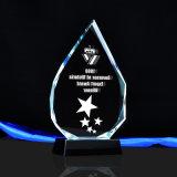 Láser 3D Grabado personalizado trofeo de cristal para comprar souvenirs