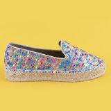 Nuove scarpe di tela materiali delle scarpe da tennis del cuneo della piattaforma delle signore per le donne