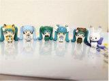 ICTI Maskottchenverziert Kostüm kundenspezifische Anime-Abbildung Plastik Puppe-Spielwaren