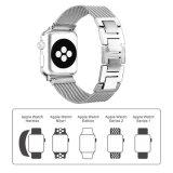 Zaken en de Toevallige Band van het Horloge van de Juwelen van het Metaal van de Band van het Polshorloge Zilveren voor Appel Iwatch