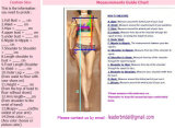 Mangas 3/4 Suite Dress Lace Appliqued Plus Size vestido de casamento Lb3231