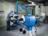 Colector de polvo de gases portátil