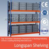 Média de armazenamento de depósito estantes Longspan seletiva/paletes