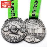 싼 포상 기념품 금속 스포츠는 메달 또는 큰 메달을 주문 설계한다
