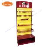 Salon automobile de lamelles de matériel de paroi voiture support pour outil pendaison de crémaillère d'affichage d'exposition Stand avec tiroir