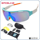 Lente de grande visão Alta Anti-Scratch Desporto polarizado óculos de sol