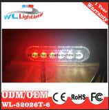 Rode Witte Oppervlakte Opgezette LEIDENE Waarschuwing Lighthead voor de Ziekenwagen van de Vrachtwagen van de Brand