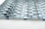 Py006 Foshan Hot vender hermoso mosaico de vidrio ondulado