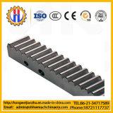 Estante y piñón de engranaje del aluminio/del acero de acero/inoxidable