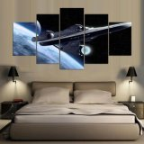 Decay Canvas print 5 panel Star Trek Alandscape Canvas Painting modular Decor Picture barrier Pictures for Living Room