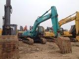 Máquina escavadora usada de Kobelco 20t da máquina escavadora da esteira rolante de Kobelco Sk200-8