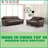 Insieme di cuoio sezionale del sofà della mobilia popolare del salone