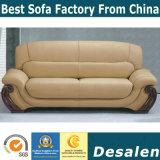 Migliori forniture di ufficio del sofà del cuoio di combinazione di qualità (C18)